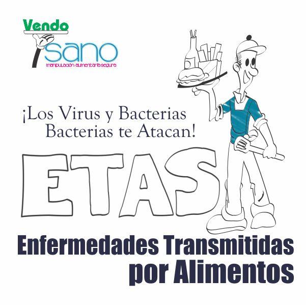 LOS VIRUS Y BACTERIAS TE ATACAN